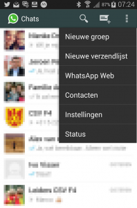 Menu Whatsapp definitief